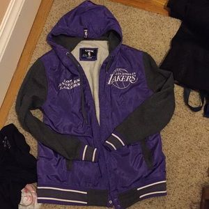 Los Angeles Lakers nylon jacket